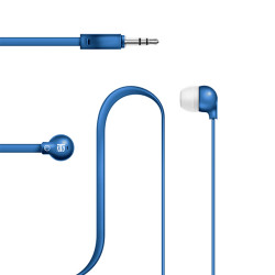 Lexingham Non-Tangle Earphones Blue L5221 image here