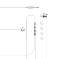Lexingham Premium Metalic Earphone Silver, L5230 image here