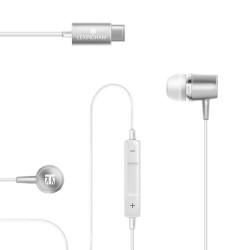 Lexingham USB-C Premium Earphones -Silver L5240 image here