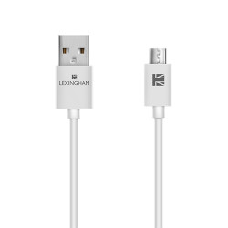 Lexingham Micro USB Cable, white, L5700 image here