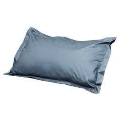 Travel Blue Feather Sleep Pillow Dark Blue Grey TB214 image here