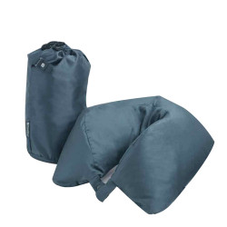 Travel Blue Feather Neck Pillow Dark Blue Grey TB215 image here