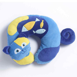 Travel Blue Kitty the Cat Travel Neck Pillow Kiddie Pillow TB282 image here