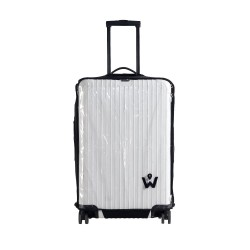 "Wanderskye Spandex Clear Luggage Cover 25"" image here"