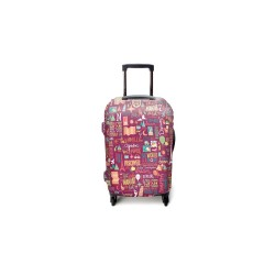 QUOTE GURU LUGGAGE COVER MEDIUM image here