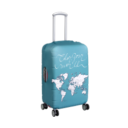 Wanderskye Green Color Your World Luggage Cover with Free Sharpie - Small image here