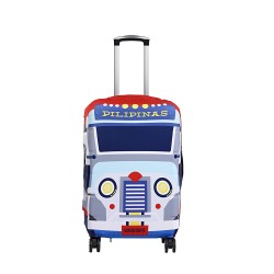 Wanderskye Pilipinas Jeepney Luggage Cover - Small Red PJ-5808-01 image here