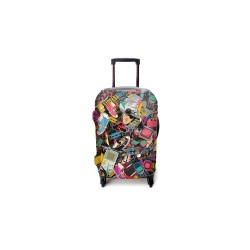 90'S KID LUGGAGE COVER MEDIUM image here