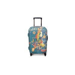 EXPLORE EUROPE LUGGAGE COVER MEDIUM image here