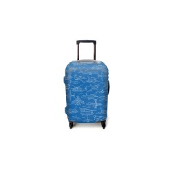 AIRPLANES LUGGAGE COVER SMALL image here