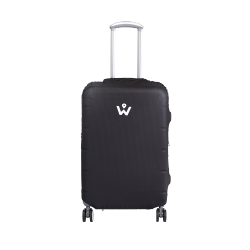 Wanderskye Plain Black Luggage Cover - Small image here