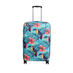 Wanderskye Bird Sanctuary Luggage Cover - Medium Green BS-5809-02 image here