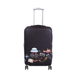 Wanderskye Gentleman Luggage Cover - Medium Gray G-5809-02 image here