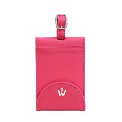 Wanderskye, PINK PREMIUM BAG TAG, Pink, PBT-8201 image here