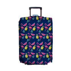 Wanderskye, TROPICAL PARADISE LUGGAGE COVER LARGE, Blue, TP-5806-03 image here