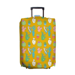 Wanderskye, DESERT TOWN LUGGAGE COVER LARGE, Yellow, DT-5807-03 image here