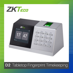 ZKTeco Fingerprint Tabletop D2 Biometrics image here