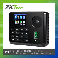 ZKTeco Touchless Palm & Fingerprint P160 Biometrics image here