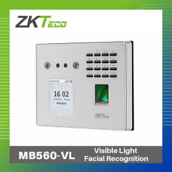 ZKTeco Face, Fingerprint & ID MB560-VL Biometrics image here
