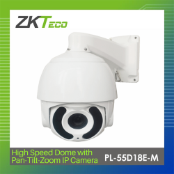 ZKTECO HIGH SPEED DOME WITH PAN/TILT/ZOOM IP CAMERA (PL-55D18E-M) image here