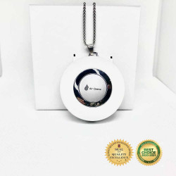 Aircleene Ionic Air Purifier Necklace  image here