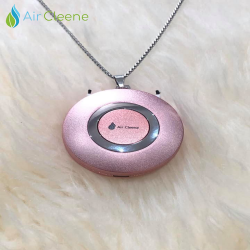 AirCleene Air Purifier Necklace in Rosegold V.2 image here