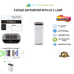Aircleene 5 stages UV AIR PURIFIER image here