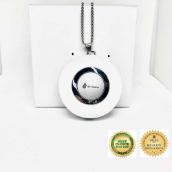 Air Purifier Necklace image here