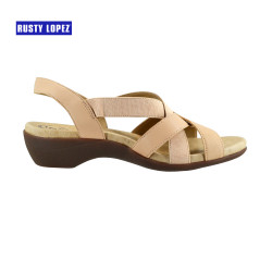 Anzie 21 Therapeutic (5 zones) Sandals BEIGE image here