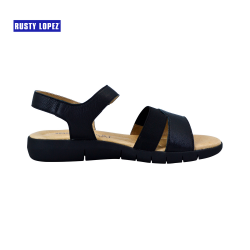 Bang 21 Therapeutic (5 zones) Sandals BLACK image here
