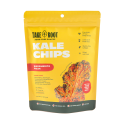 Margherita Pizza Kale Chips 60g image here