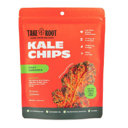 Spicy Sriracha Kale Chips 60g image here
