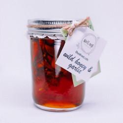 Infused Honey - Organic Garlic image here