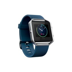 FITBIT BLAZE SMART FITNESS WATCH - LARGE (BLUE SILVER) image here