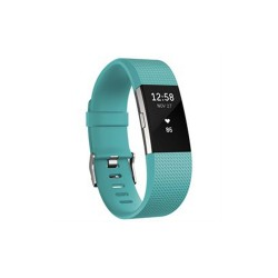 FITBIT CHARGE 2 HEART RATE + FITNESS WRISTBAND - LARGE (TEAL) image here