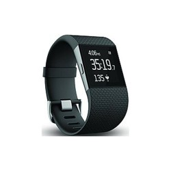 FITBIT SURGE FITNESS SUPERWATCH - LARGE (BLACK) image here