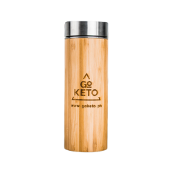 GoKeto Bamboo Detox Tumbler image here