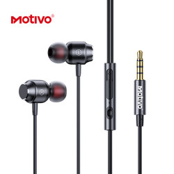 Motivo H11 In-Ear Earphones With Magnetic Suction HiFi Audio and Volume Control image here