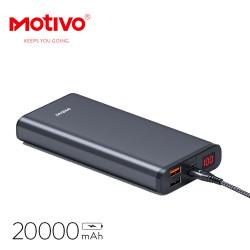 Motivo H103 Powerbank 20000mAh 2 USB high quality fast charging ultra-thin image here