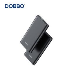 Dobbo P10 10,000 MAH LED Digital Power Bank Metal Casing Black image here