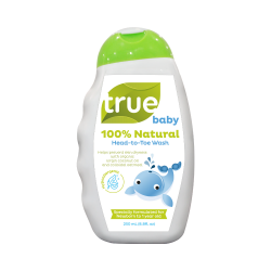 True Baby 100% Natural Head to Toe Wash 250mL image here