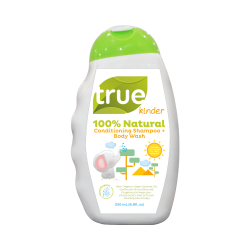 True Kinder 100% Natural Conditioning Shampoo + Body Wash 250mL image here