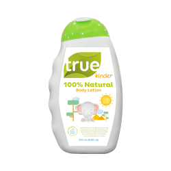 True Kinder 100% Natural Body Lotion 250mL image here