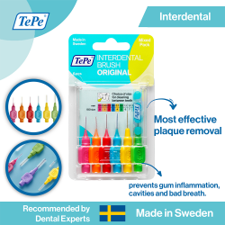 TePe Original Interdental Brushes Blister Pack image here