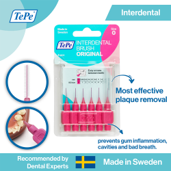 TePe Original Interdental Brush-Pink image here