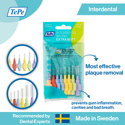 TePe Extra Soft Interdental Brushes Mixed Pack image here