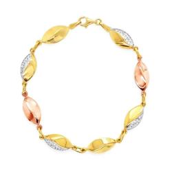 Karat World Gold Bracelet GB-7421 image here