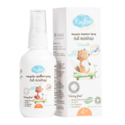Kindee Organic Mosquito Repellent Citronella Spray 4 yrs and up, 60ml image here