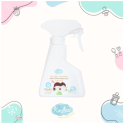 Kindee Organic Hand Sanitizer Sweet Orange Scent 200ml, for 1 yr & up image here