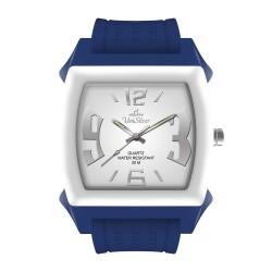 UniSilver TIME Kandy Krushhh (Regular Size) Unisex Yale Blue / White Analog Rubber Watch KW479-2025 image here